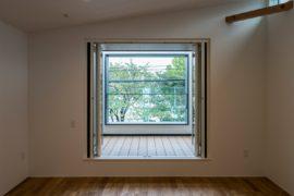 【注文住宅】借景をとらえたリビングのある家