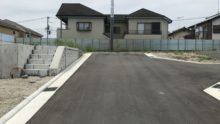 新築計画の現場確認(2)♪