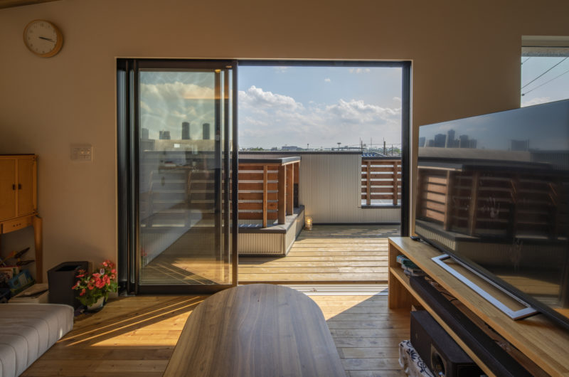 【注文住宅】景色の抜ける2階リビングの家